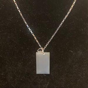 Emporio Armani Ladies Sterling Silver Quartz Neck